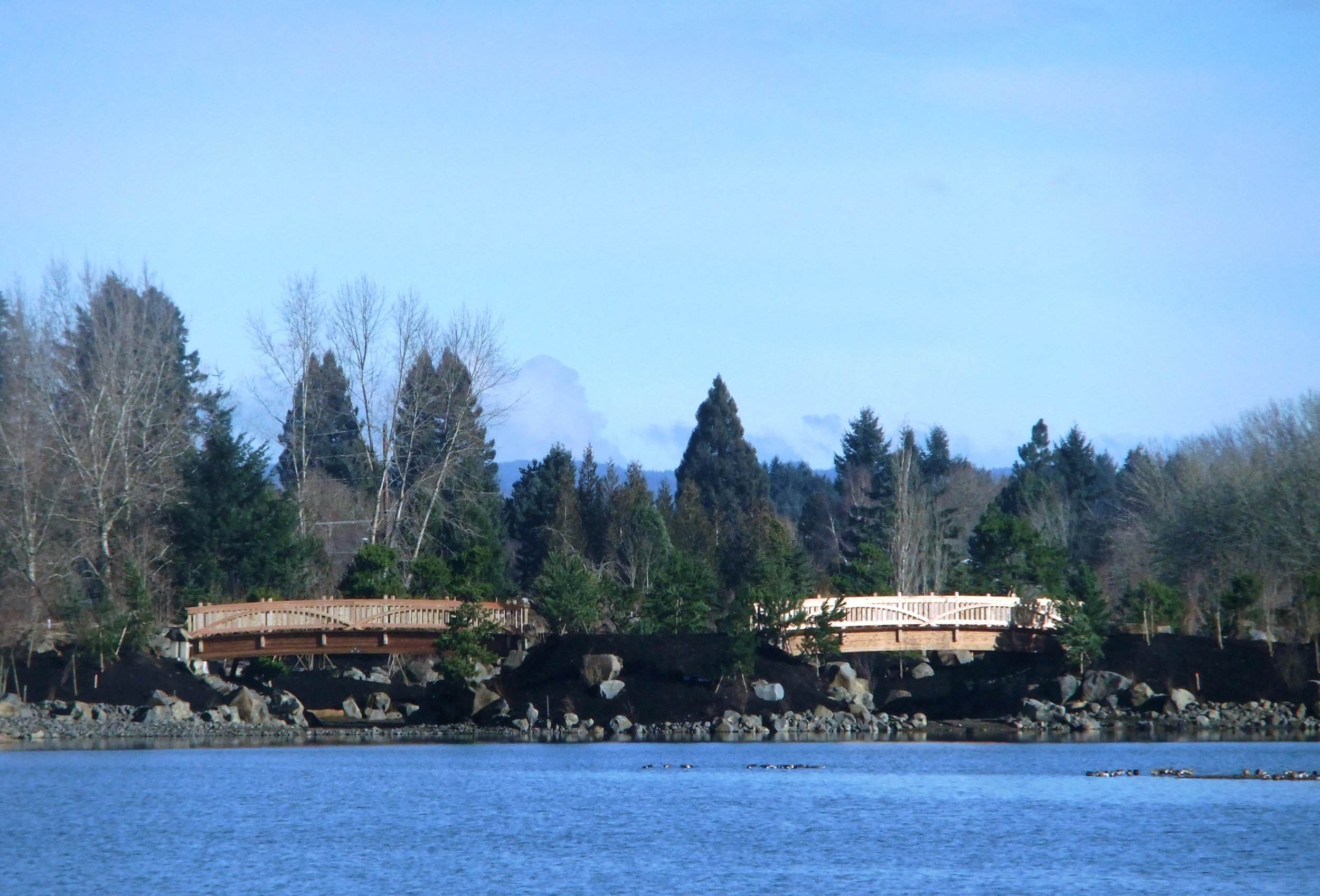 Water Garden Bridges 2013