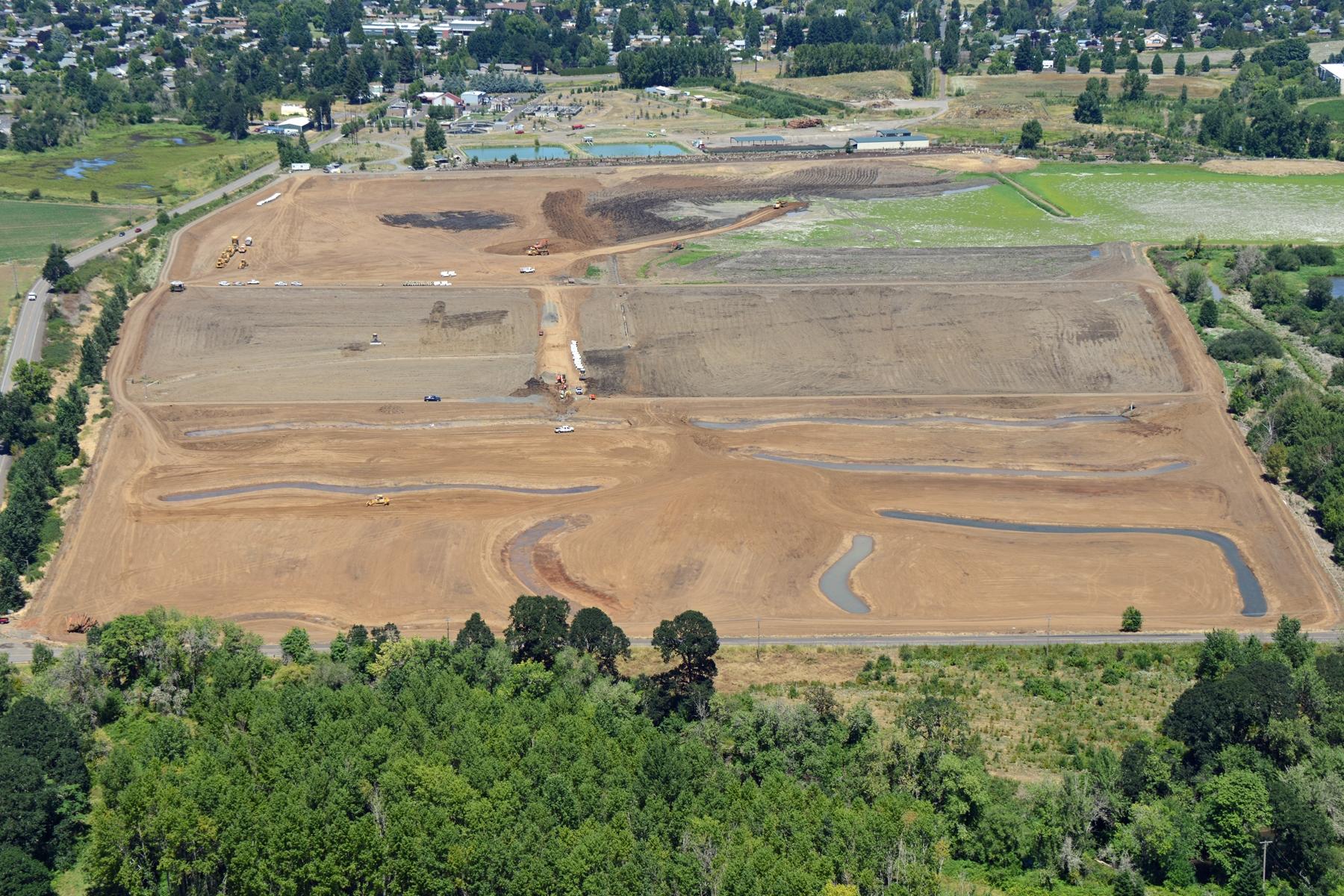 South Wetlands Under Construction