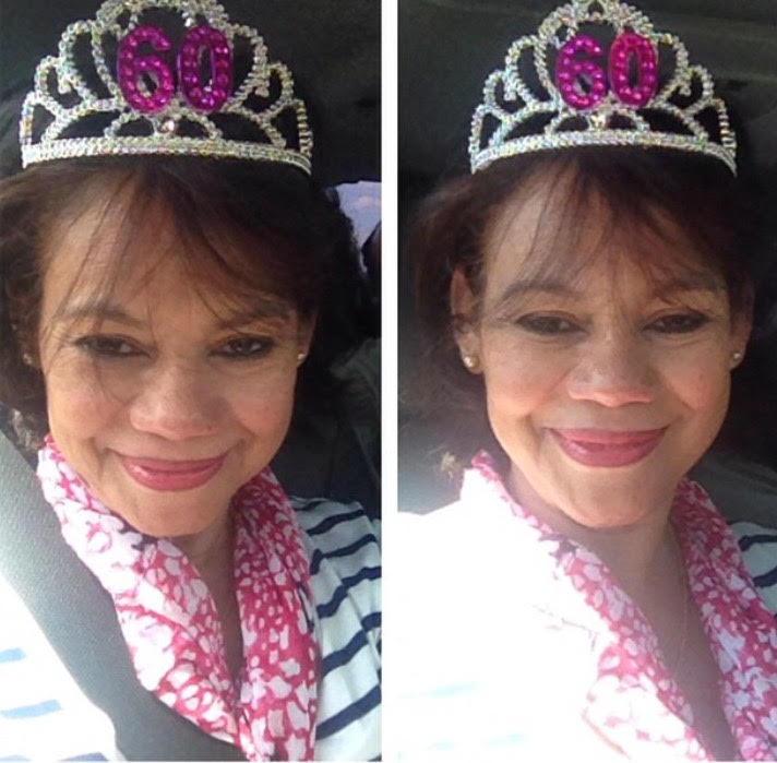 My Queen when she Turned 60!