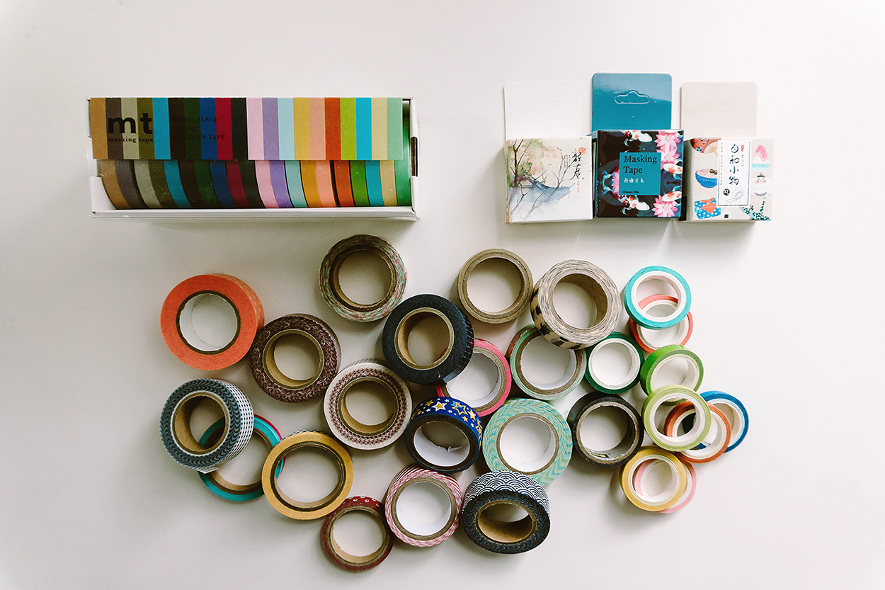 Bullet Journal Supplies Washi Tapes