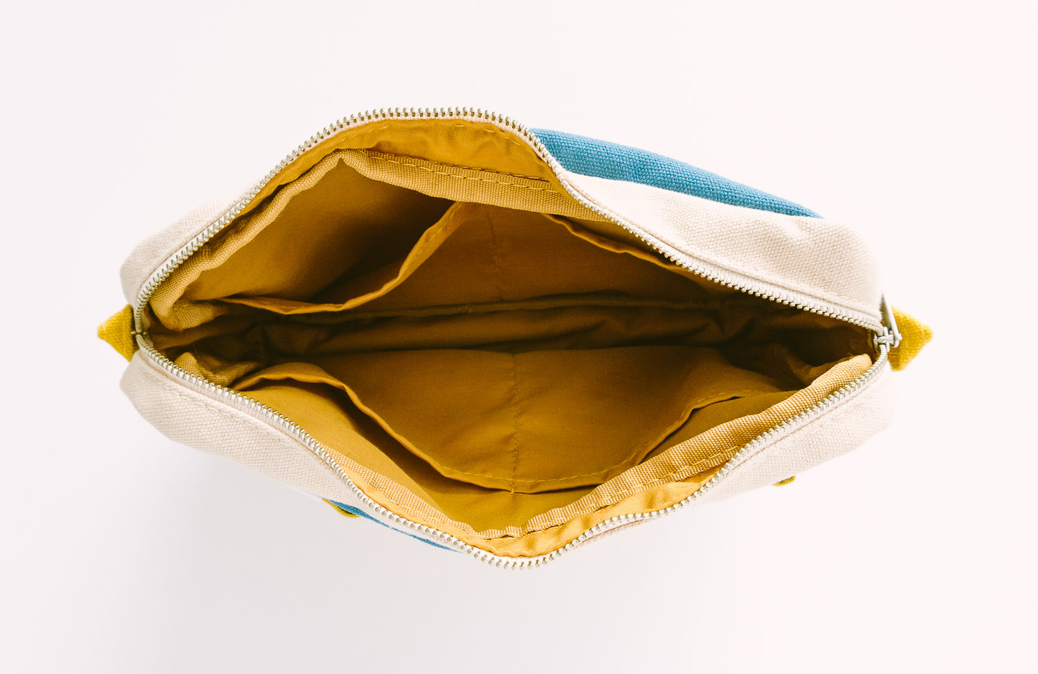 The pouch is roughly 10.5 x 7.25 inches.