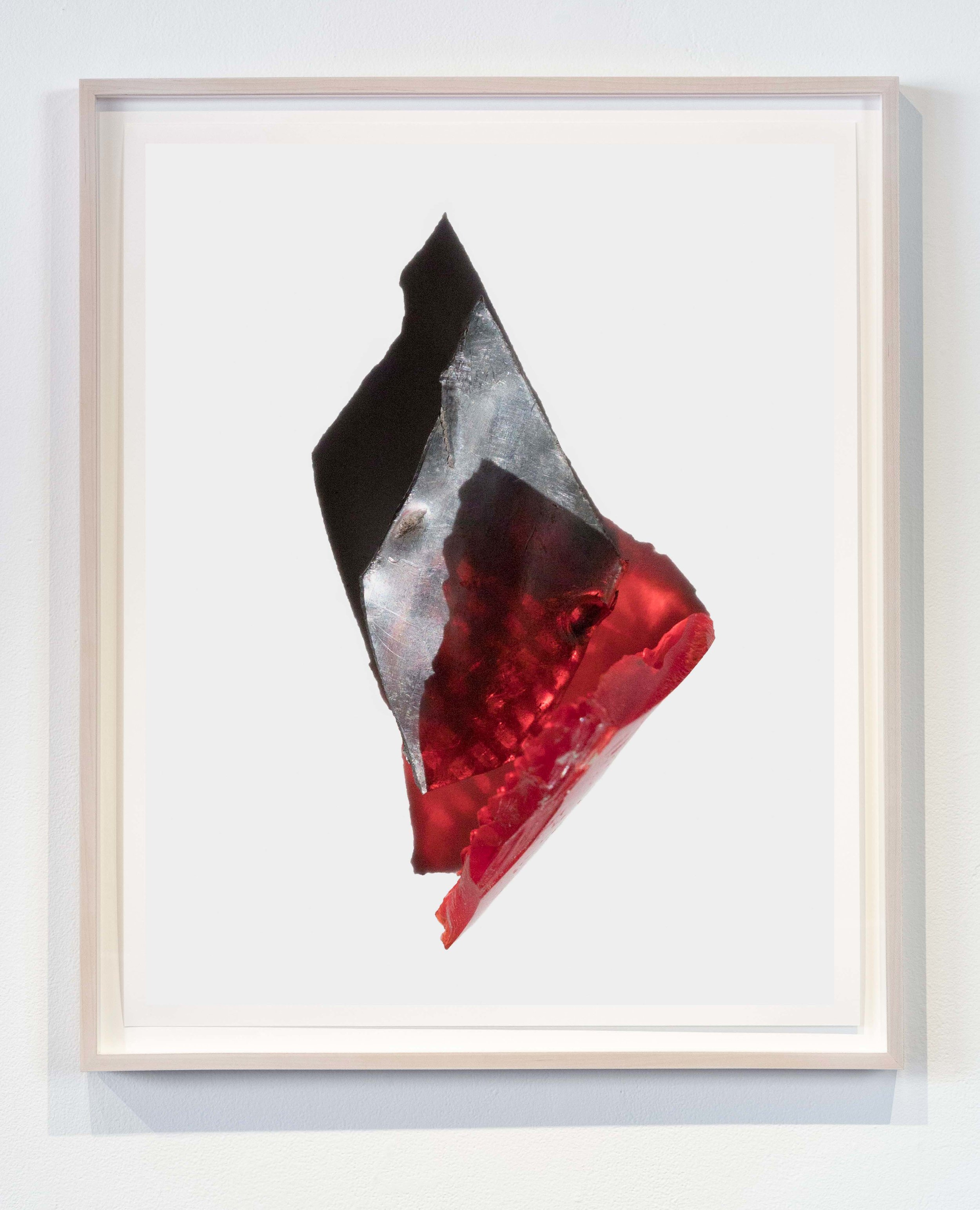 Sharp Metal Red Plastic  20x25 inches