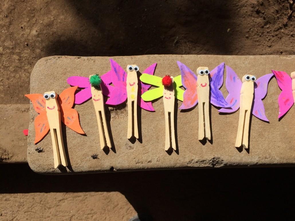 Butterflies made at our children's program.