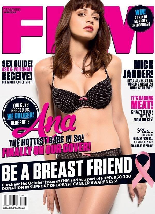 FHM SOUTH AFRICA OCTOBER 2013  PHOTOGRAPHER ULRICH KNOBLAUCH