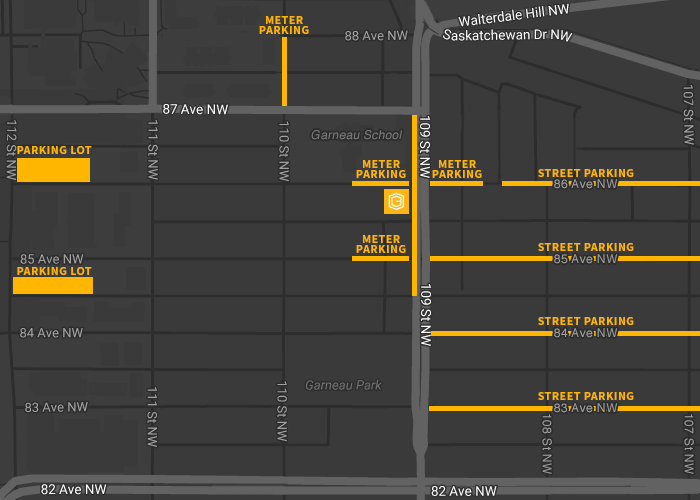 Code and Effect Parking map