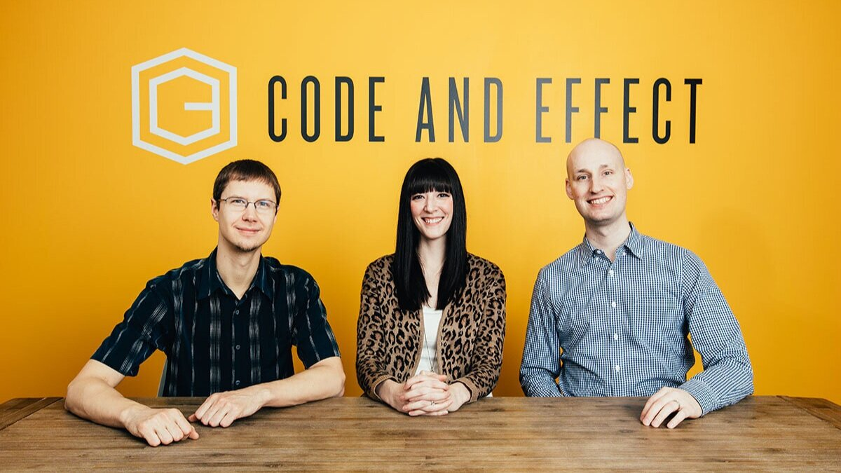 The Code and Effect leadership team