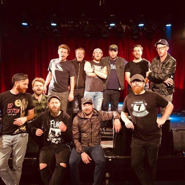 @thestanfields are coming home today!!! Check out some of these pics from their tour in Germany! . . . . . . . #rookierecords #groundswellmusic #thestanfields #tourlife