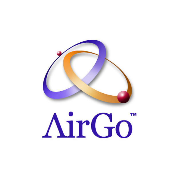 AirGo   Logo design for Pioneer Electronics' wireless router product..