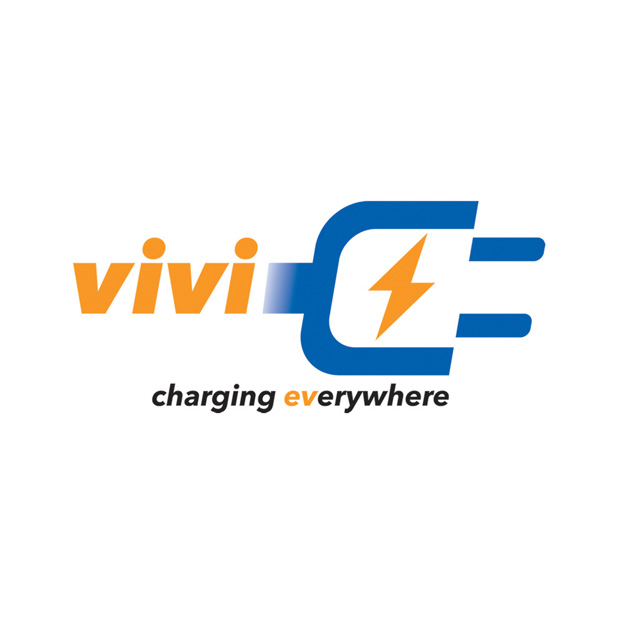 Vivi   Speculative. Logo for Vivi mobile EV charging service.