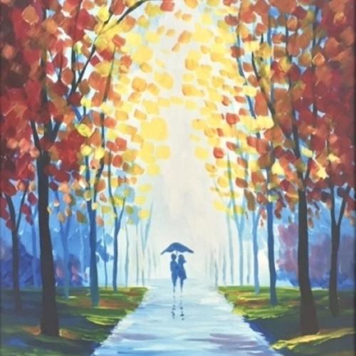 """Evening Stroll"" Painting UR Way"