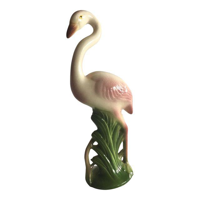 Vintage Flamingo Figurine, SOLD