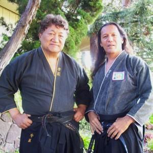Grand Master Mark Saito, Sr. & Master Maui Saito