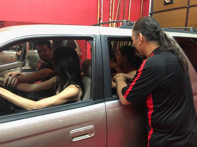 Getting grabbed in a car #womensselfdefense #selfdefense #saitobloodlineninjitsu #scottsdaleaz #carscene