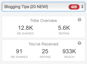 Tailwind Tribes to grow your blog