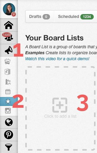 Create Board List in Tailwind
