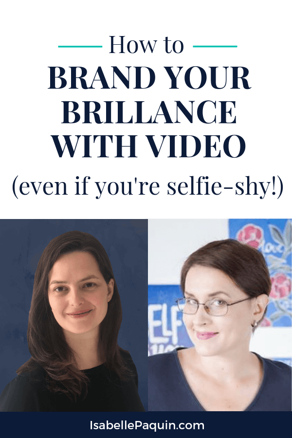 Watch to find out how to use video for branding your business in this exclusive interview featuring Eve Voyevoda. Includes a free guide with 10 tips to improve your videos. #videomarketing #branding #isabellepaquin