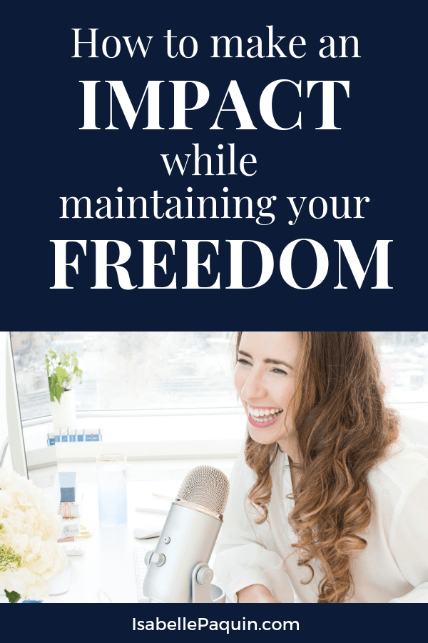 Discover how impactful coaches & course creators are creating freedom in their business while making an impact on the world. Watch the video, then join us inside our free Facebook group to connect with other like-minded entrepreneurs. #isabellepaquin #coachingbusiness #coursecreators