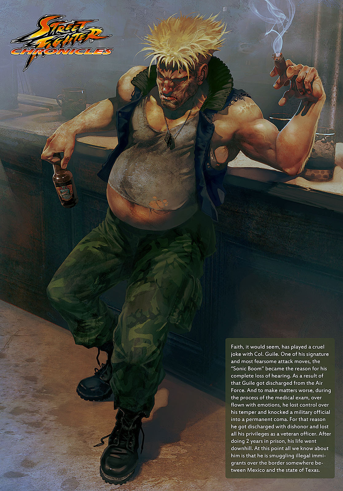 Street Fighters past their prime, check out more  here