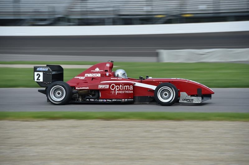 #2 Soul Red Pro Formula Mazda - Raced by driver Steven Ford in the INDYCAR sanctioned 2017 Pro Mazda Championship series with a 3rd place National Class finish in both races of the Indianapolis Grand Prix at the Indianapolis Motor Speedway this year. It is on site and on track for testing and track days at Motorsport Ranch Cresson throughout the year with autosport driven marketing opportunities available.