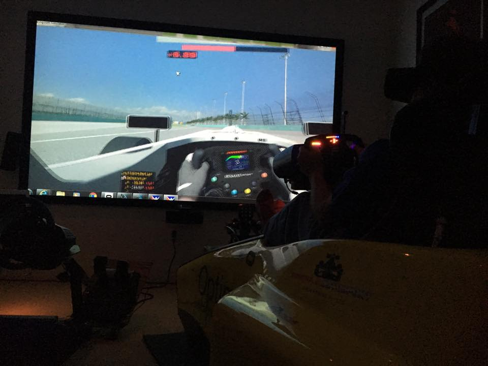 Cockpit Motion Simulator