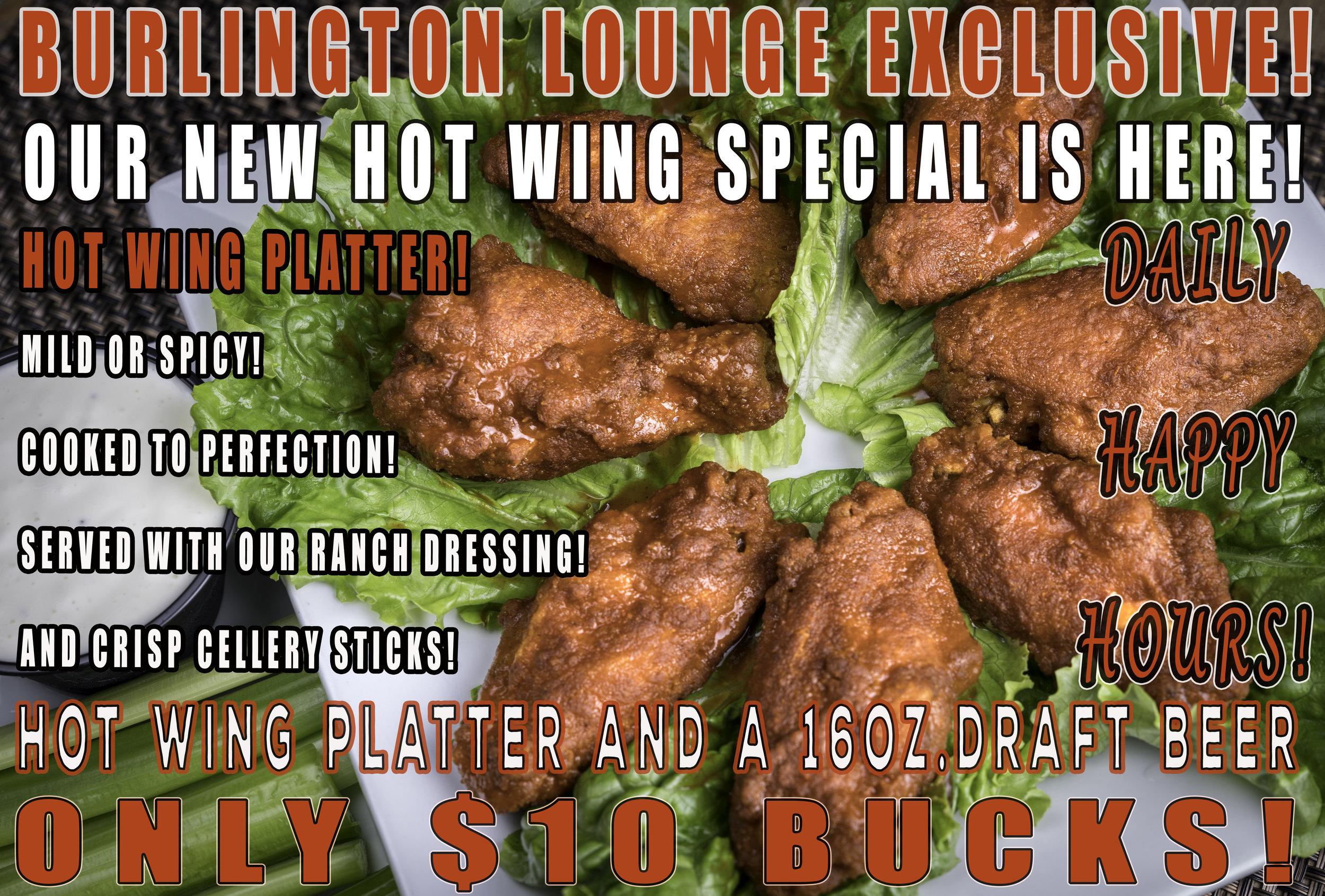 Burlington Hot Wings Lounge Happy Hour Combo Special .jpg