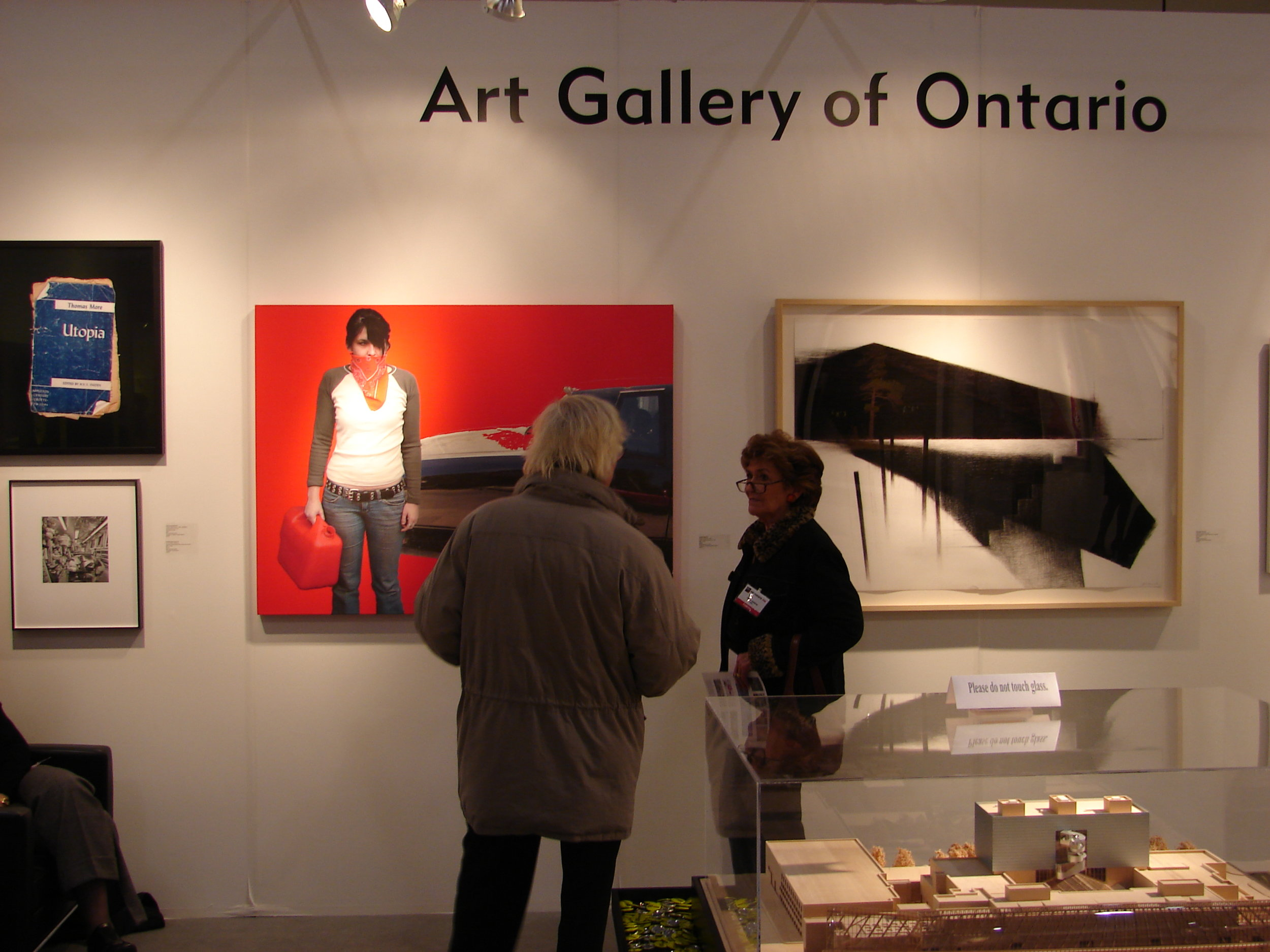 """ GASOLINE DREAMS "" (Art Gallery of Ontario at TIAF)"
