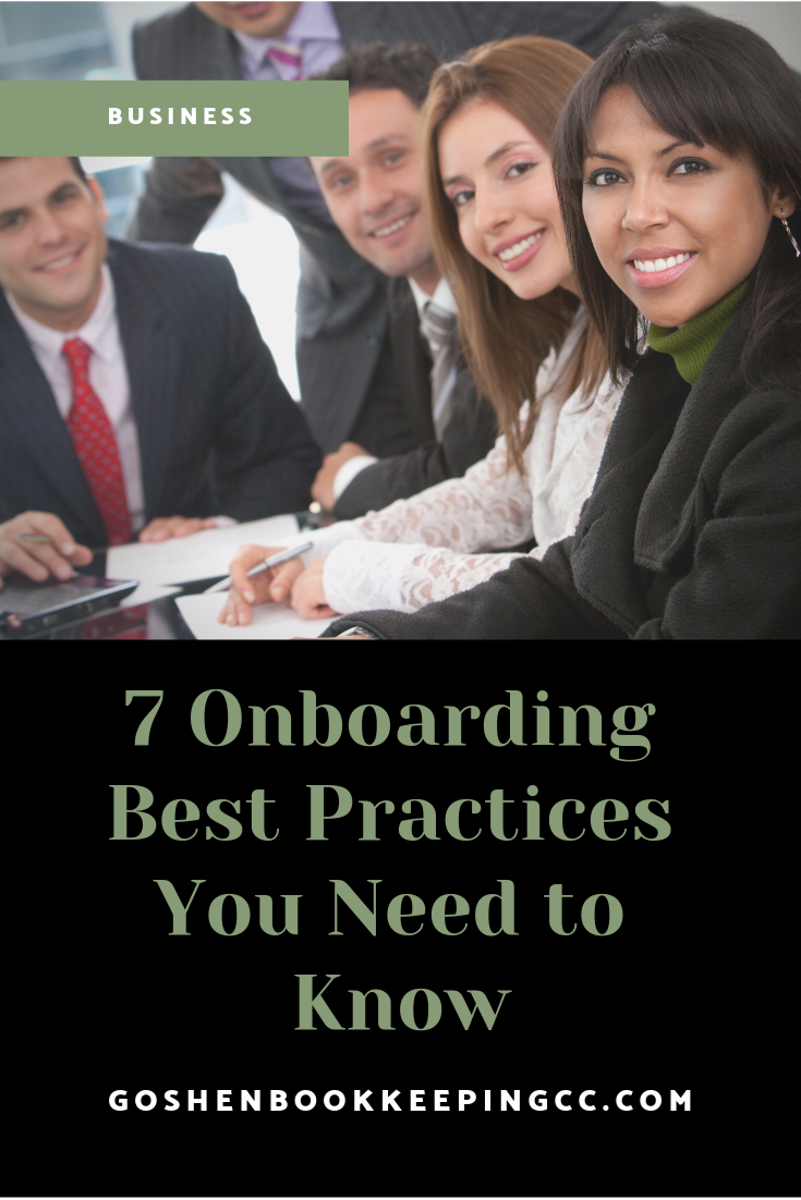 7 Onboarding Best Practices You Need to Know | Goshen Bookkeeping & Consulting