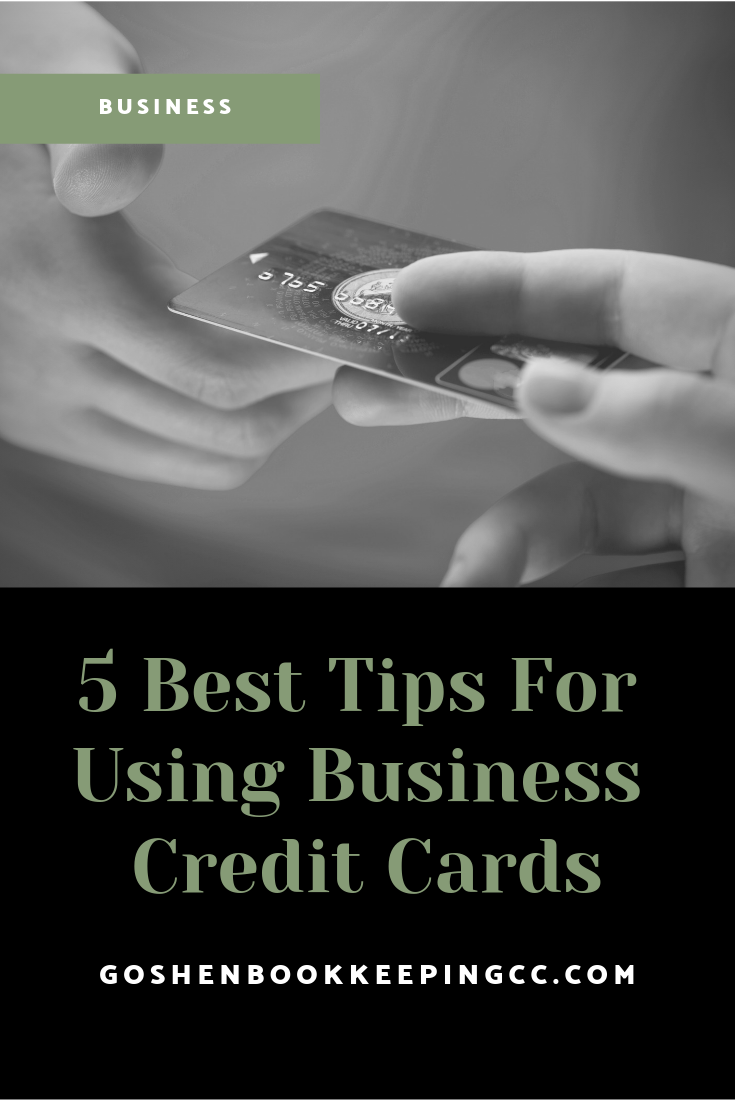 5 Tips to Avoid Debt Using Business Credit Cards | Goshen Bookkeeping & Consulting