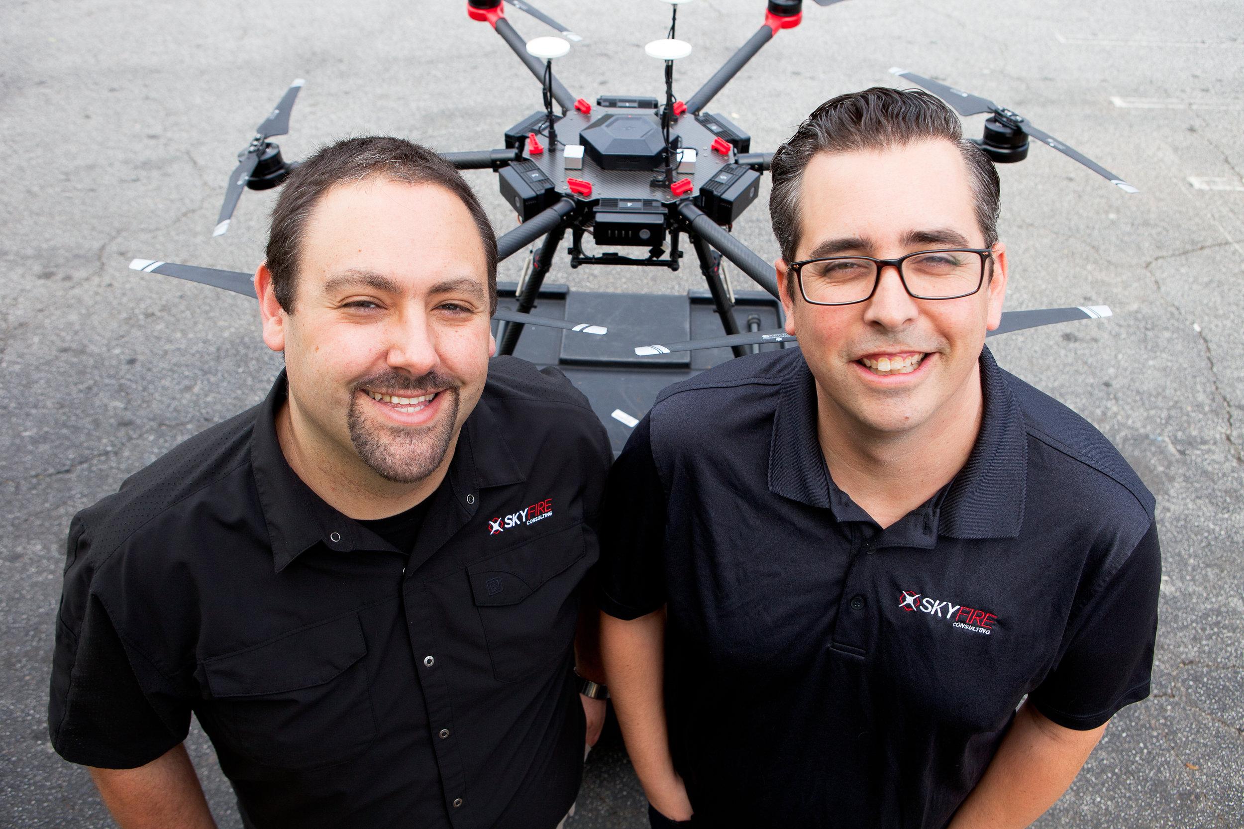 Ben Kroll and Matt Sloane, founders of SKyfire Consulting