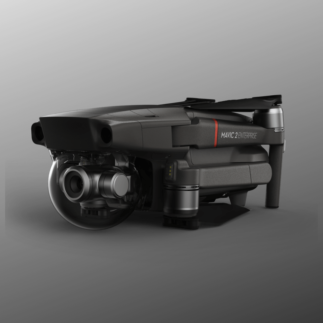 Mavic 2 Enterprise folded police drones for sar and fire service drones