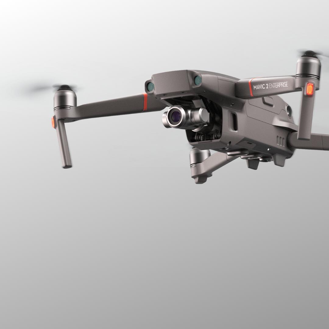 Mavic 2 Enterprise drone for police or fire service uas