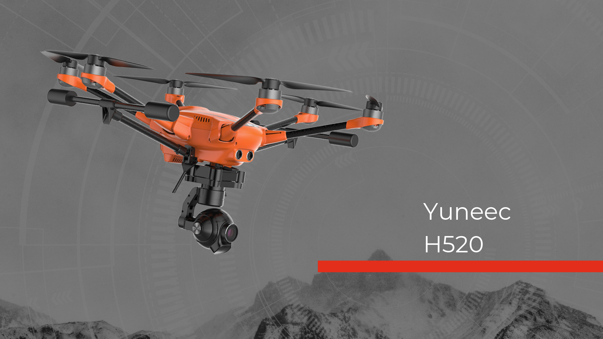 Yuneec H520 Hero Image Fire and police drone