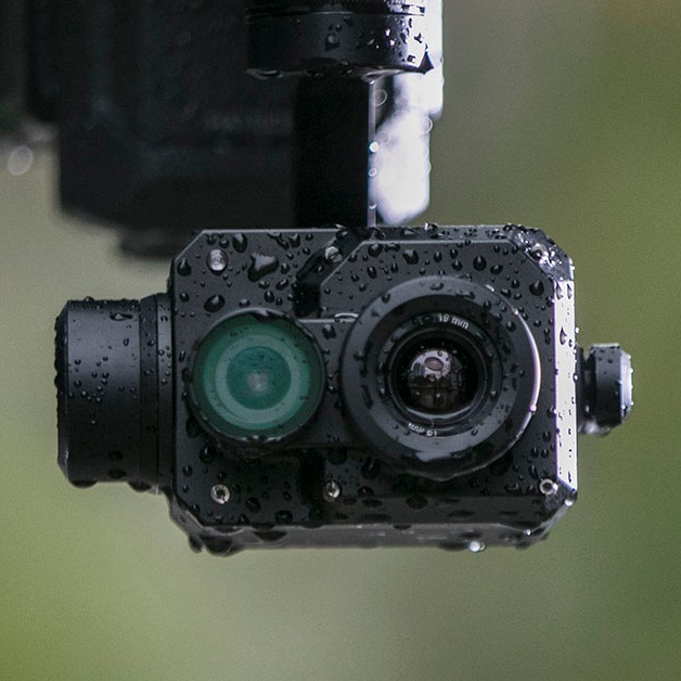 FLIR DJI Zenmuse XT2 thermal and daylight camera for search and rescue