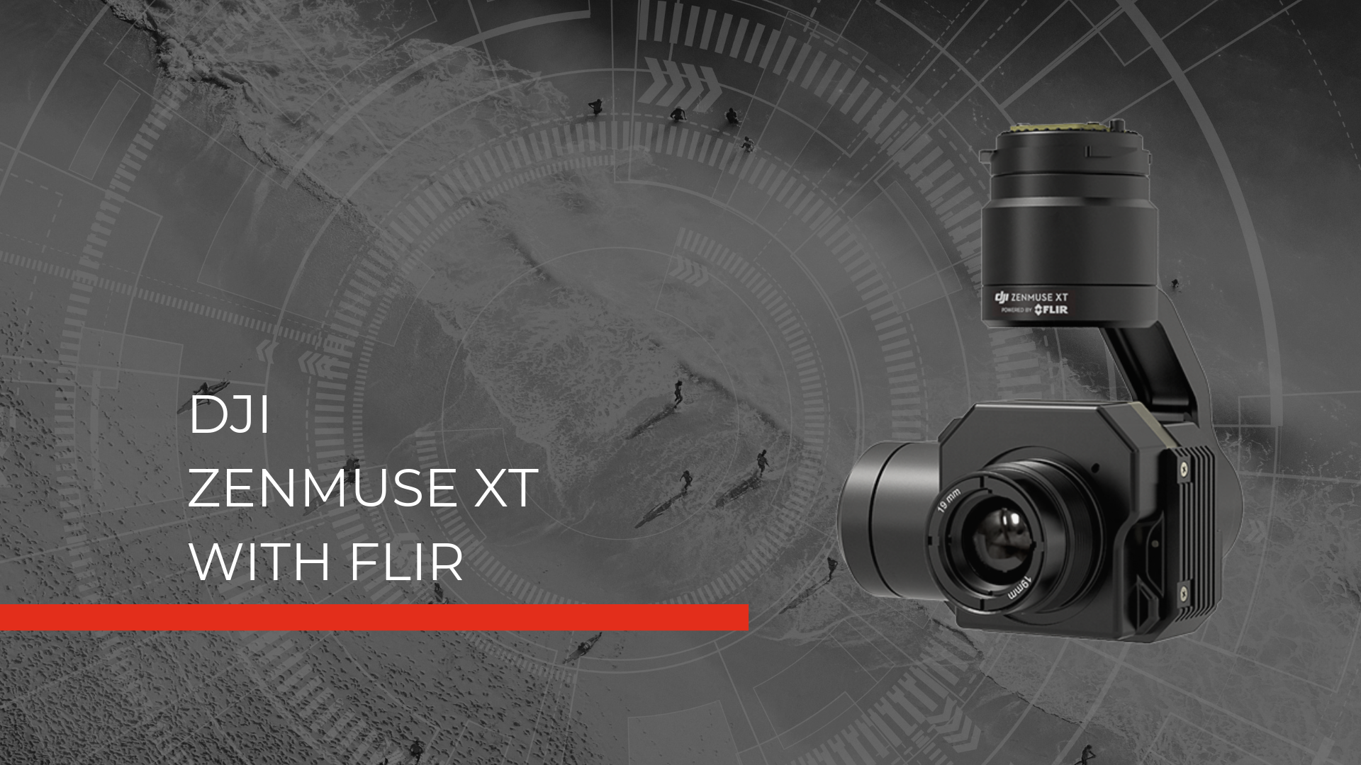 Zenmuse XT Hero Image thermal imaging for fire rescue drones