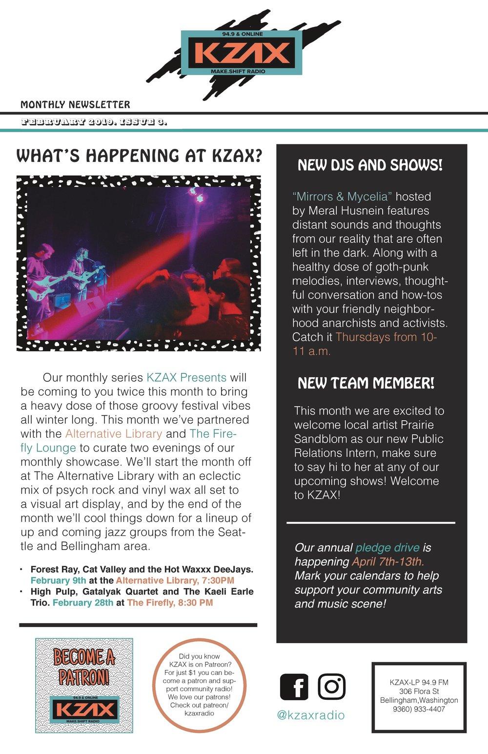 KZAX RADIO — Make Shift Project