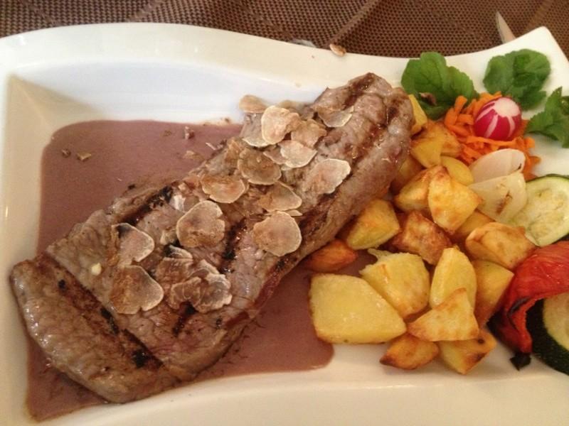 Steak-with-White-Truffles