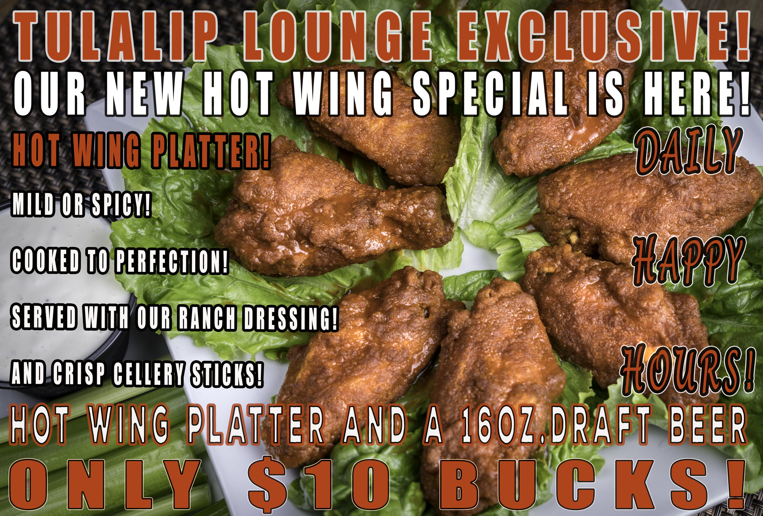 Tulalip Hot Wings Lounge Happy Hour Combo Special .jpg
