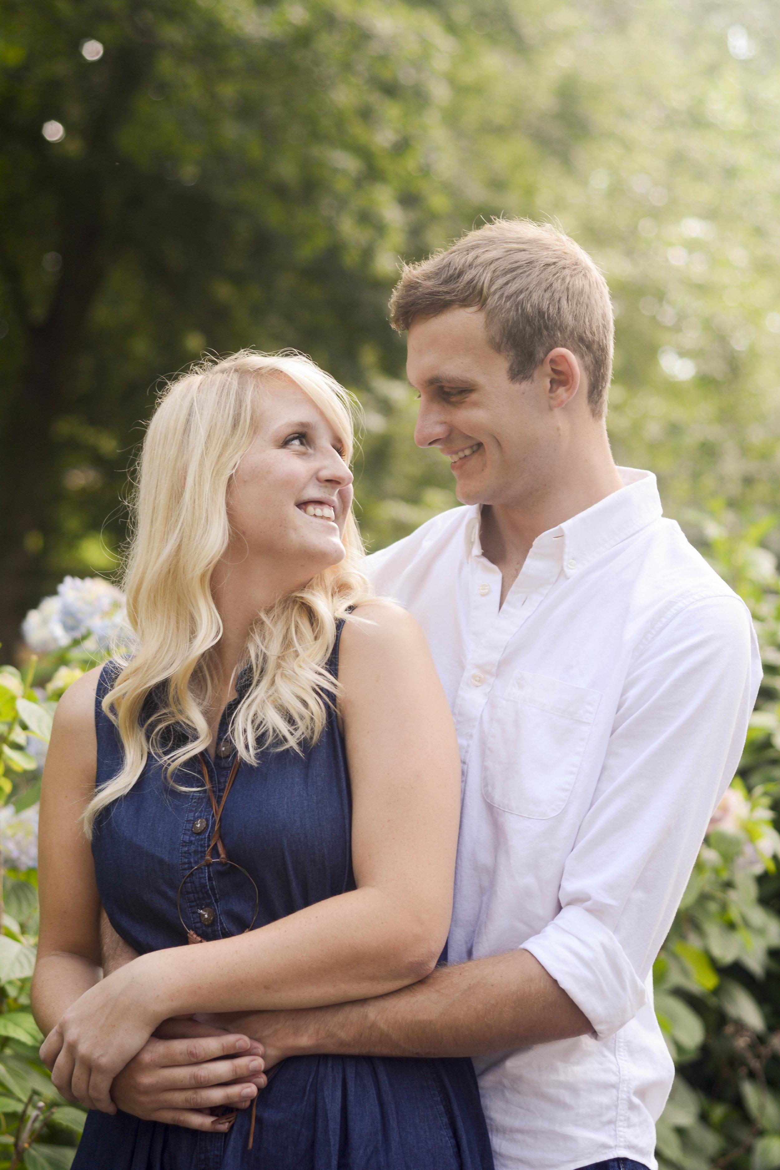 Couples Garden Photoshoot