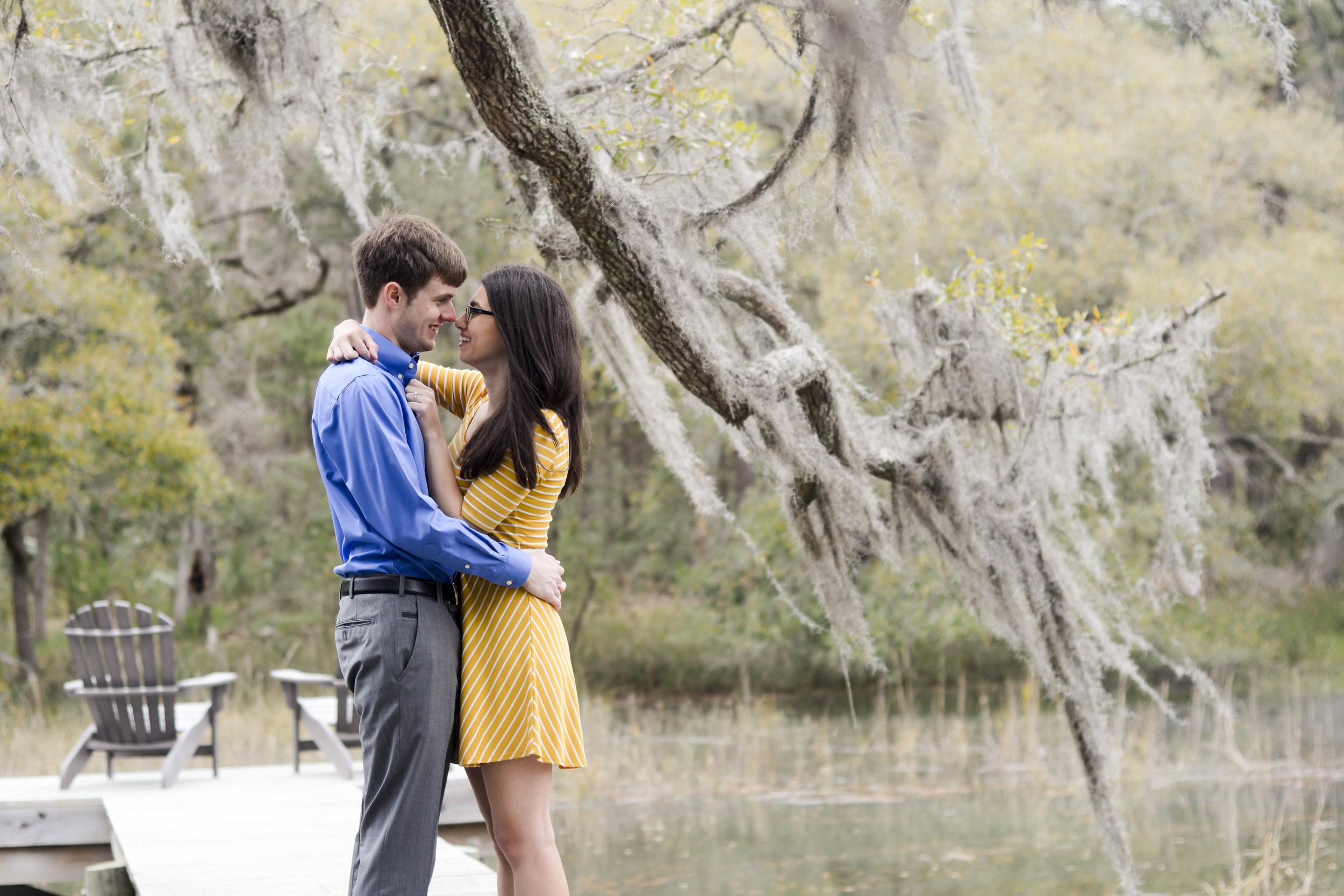 Charleston Engagement Photo