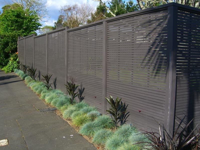 (1) Oriental Screen Fence