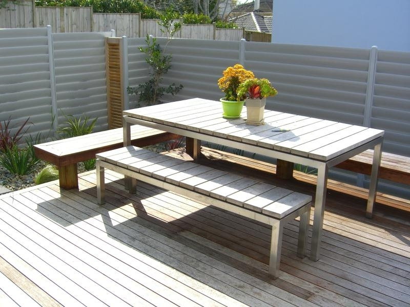 (4) Kwila deck & bench seat