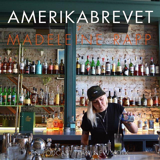 Äntligen onsdag och idag snackar jag med @madeleinesolorapp, prisad bartender som bla jobbat på världens bästa bar @deadrabbitnyc i New York och @svartengrens i Sthlm 🥂 Link i bion! 👆🏼