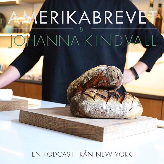 I veckans avsnitt möter vi härliga @johannakindvall som lär stressade NYC bor baka bullar och knåda surdegsbröd! Ett måste för alla utlandssvenskar som undrar hur man bakar med torrjäst och andra underliga ingredienser 🙄 Tack Johanna! | i samarbete med @rundfunkmedia 🎧