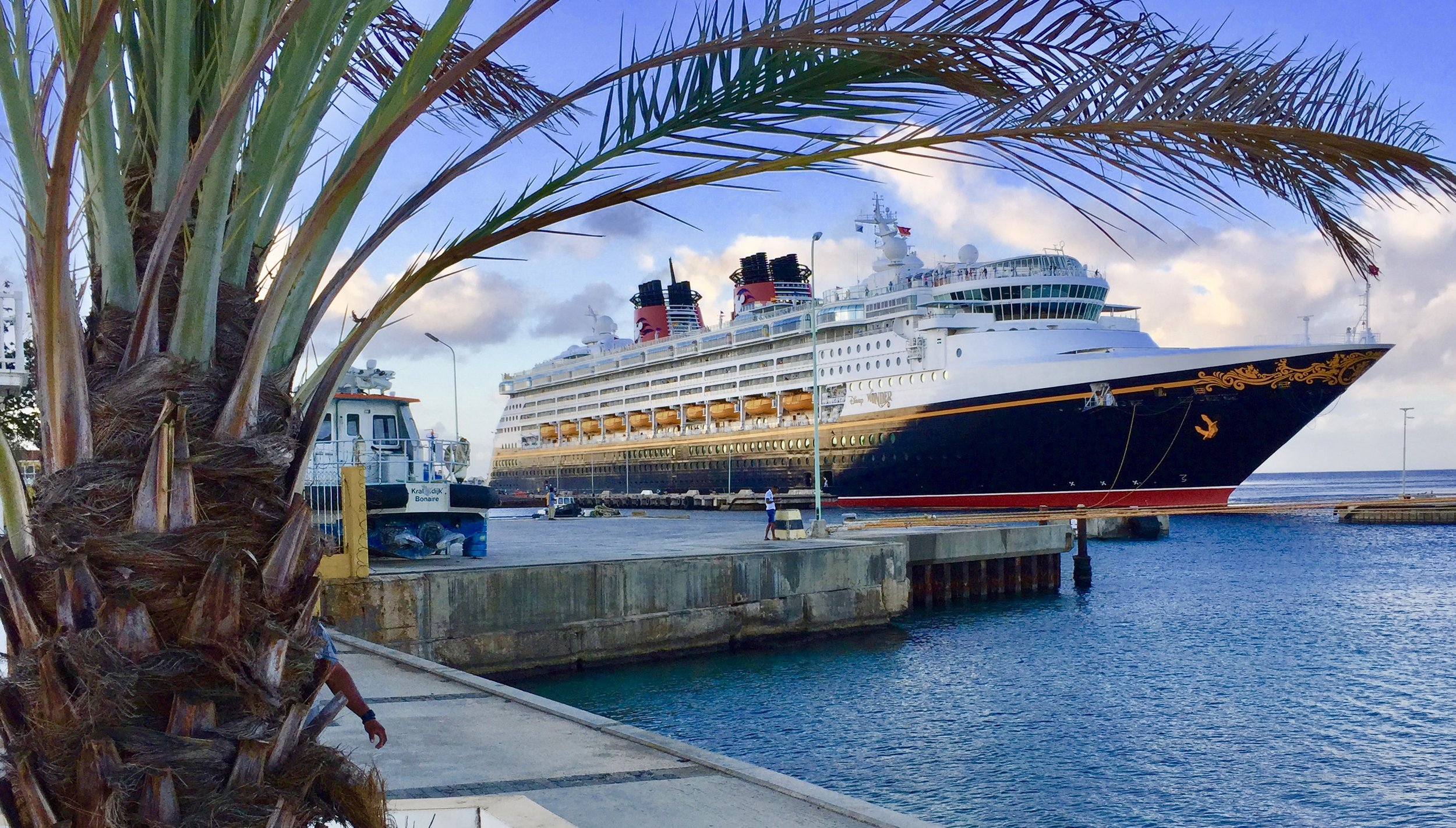 Disney Wonder's first visit to Bonaire - February 2018