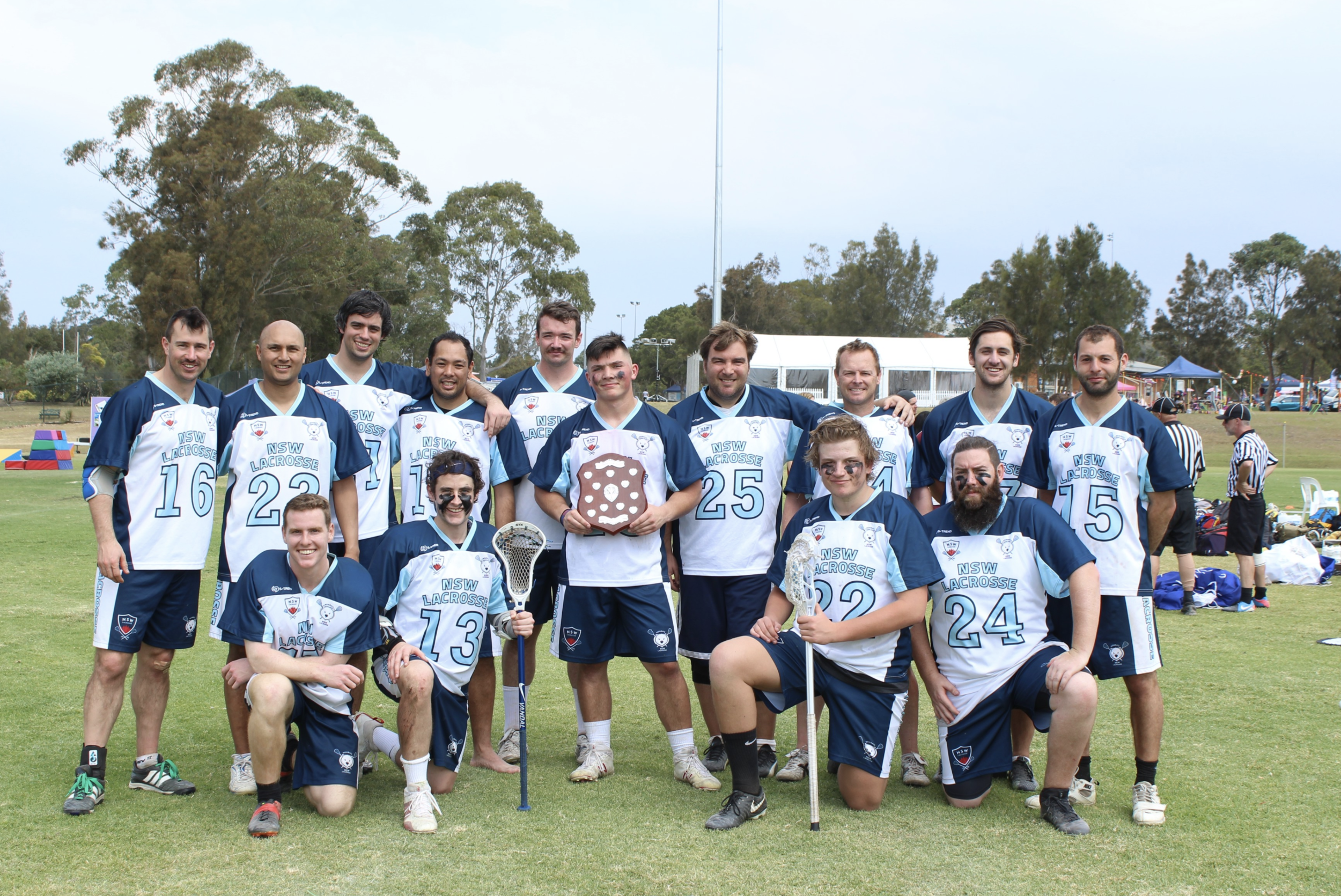 The East Coast Cup is an annual interstate battle between New South Wales and Queensland. This year Queensland is hosting. We're playing in May this year instead of September in order to start training for Nationals together
