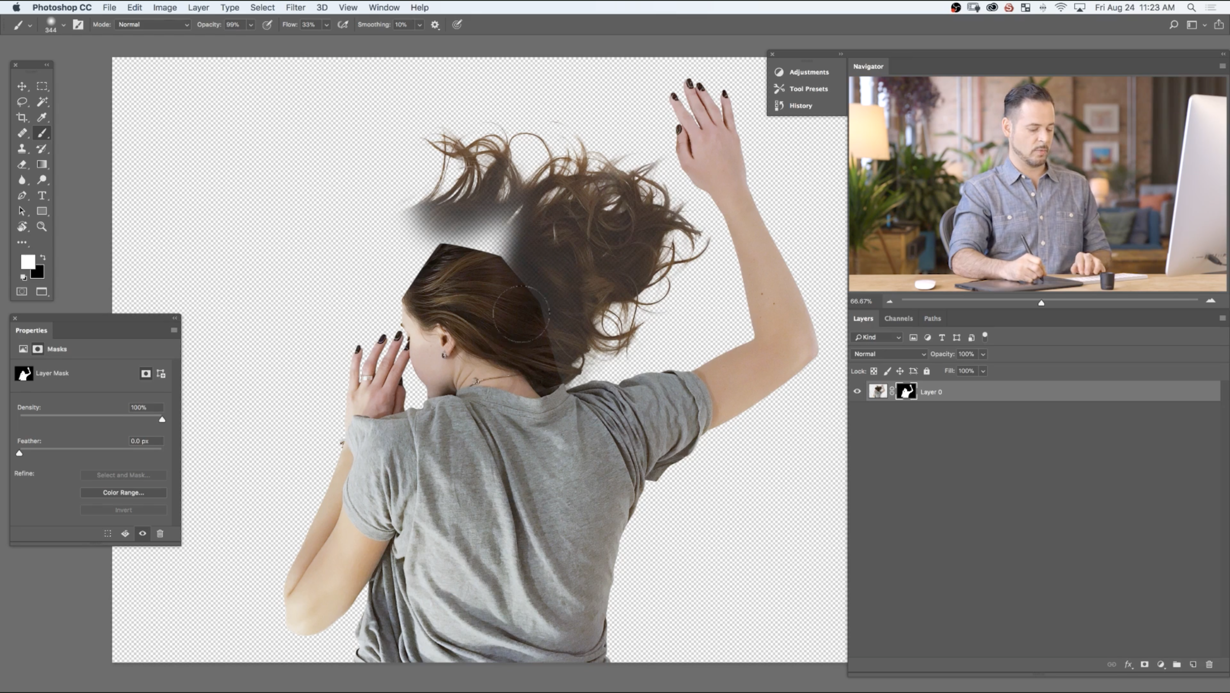 PHLEARN Pro Tutorial: How to Cut Out Hair in Photoshop, Chapter 2-07