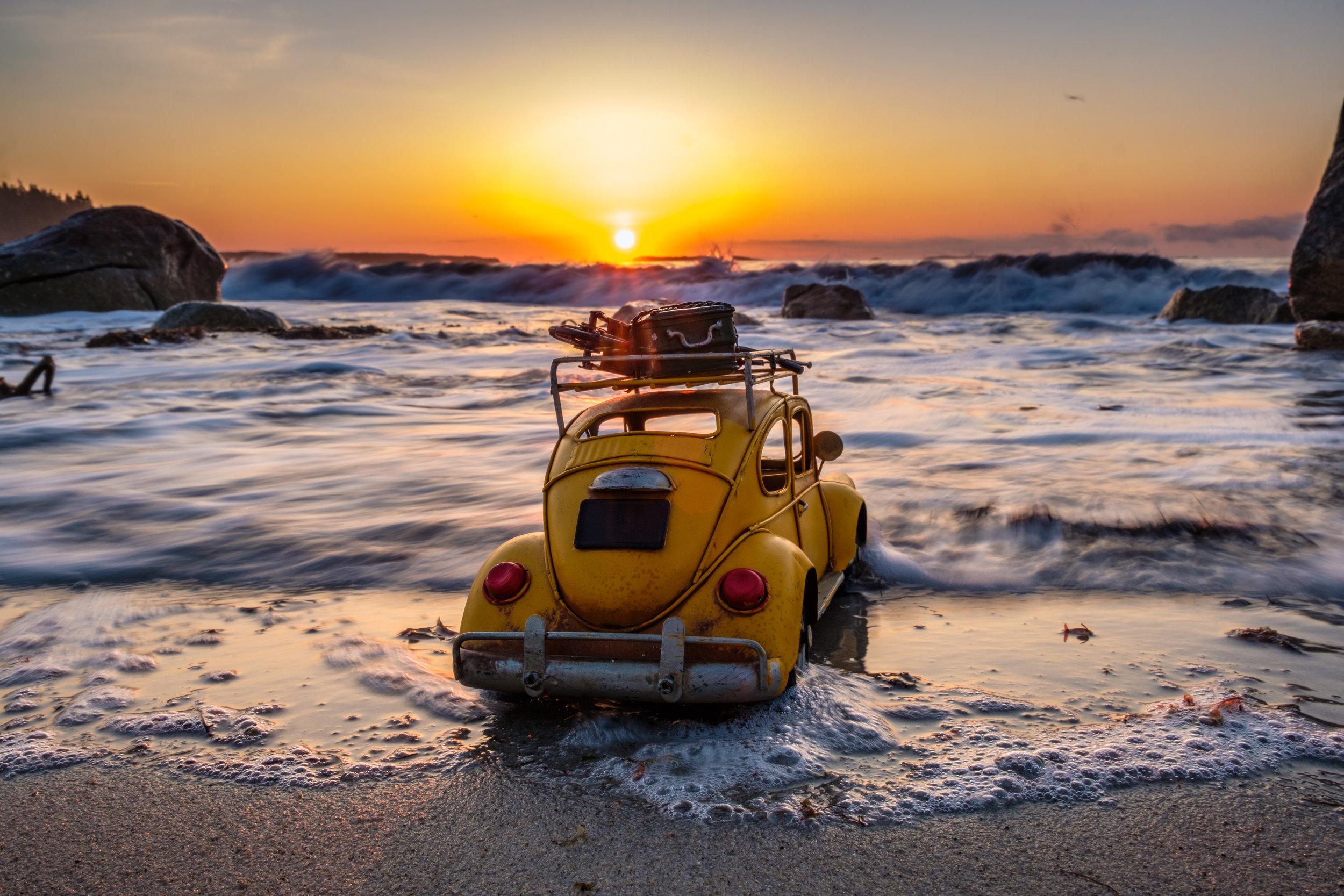 VDub_Willie, Crystal Crescent Beach, Nova Scotia