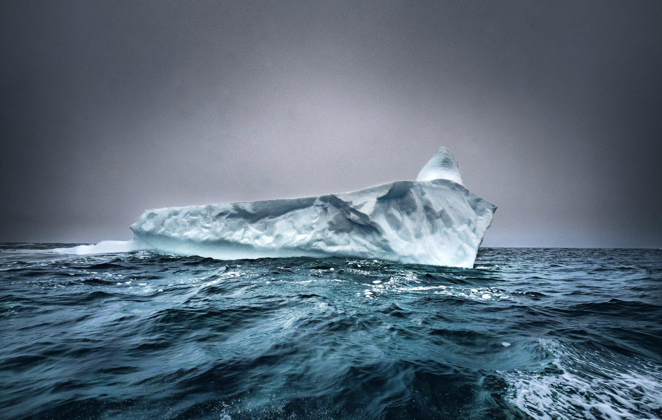 Iceberg off the cost of Newfoundland