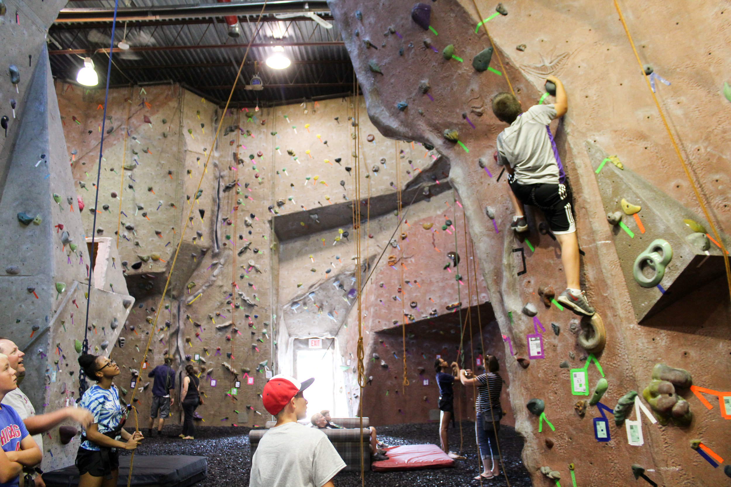 Host your next event at Climb On   We can accommodate groups of 5 to 35! Birthday parties and more ROCK when they're at Climb On!   Party Packages