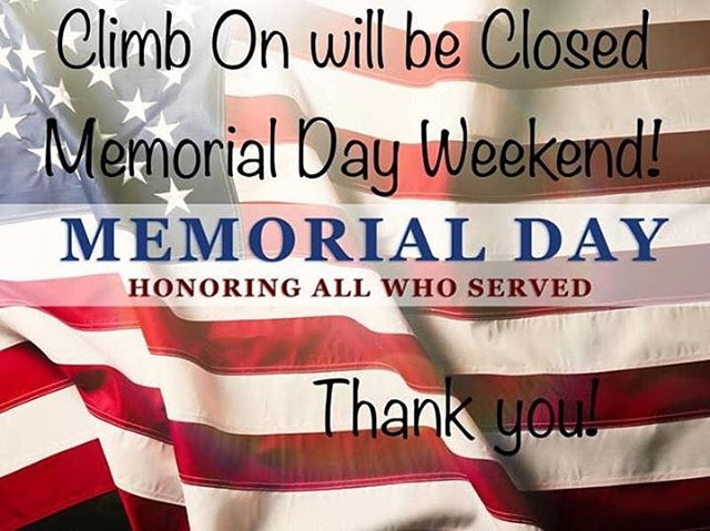 Climb safe everyone, and thank you to all who serve! 🇺🇸🧗🏼‍♂️🧗🏼‍♀️ #climbing #rockclimbing #indoorrockclimbing #indoorrockgym #climbinggym #rockclimbinggym #climbsafe #memorialday #homewood #illinois #thankyoutoallwhoserve